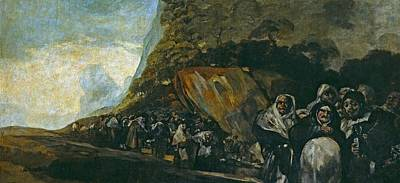 Inquisition Painting - Pilgrimage To The Well Of San Isidro by Francisco Goya