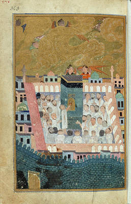 Mecca Photograph - Pilgrims To Mecca by British Library