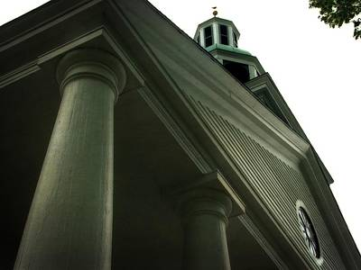 Photograph - Pillar Church by Michelle Calkins