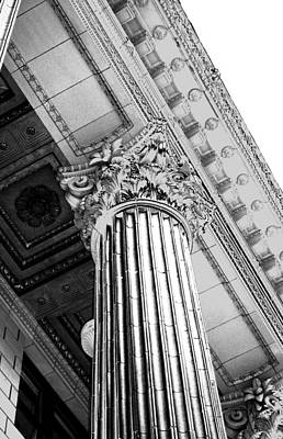Greek Columns Digital Art - Pillar Of Finance  by Cathie Tyler