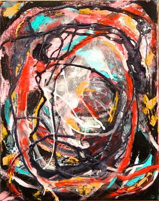 Painting - Pillar Of Salt by Marita Esteva