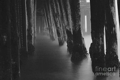 Photograph - Pillars And Fog 1 by Paul Topp