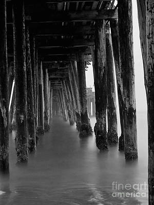 Photograph - Pillars And Fog 2 by Paul Topp