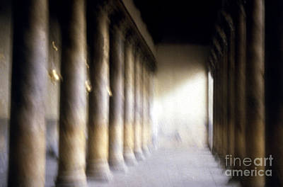 Pillars In Israel Art Print by Scott Shaw
