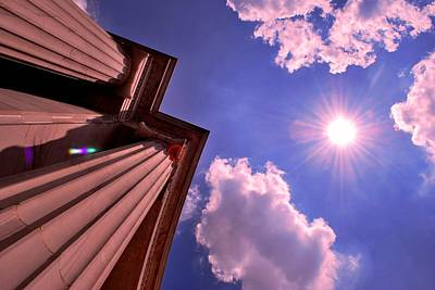 Photograph - Pillars In The Sun by Matt Harang