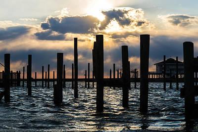 Waterscape Photograph - Pillars by Kristopher Schoenleber
