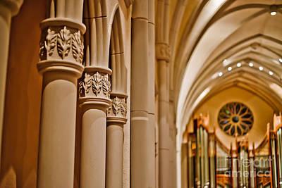 Pillars Of Faith Art Print by Will Cardoso