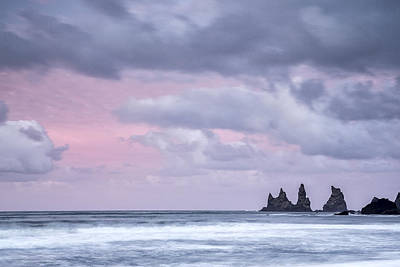 Pillars Of Iceland Print by Jon Glaser