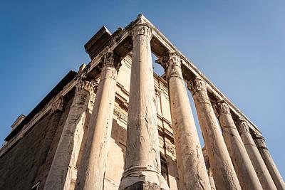 Photograph - Pillars Of Rome by Toren Lehrmann