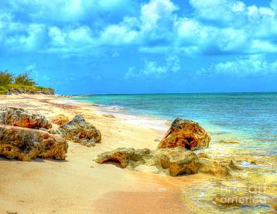 Grand Turk Island Photograph - Pillory Beach by Debbi Granruth