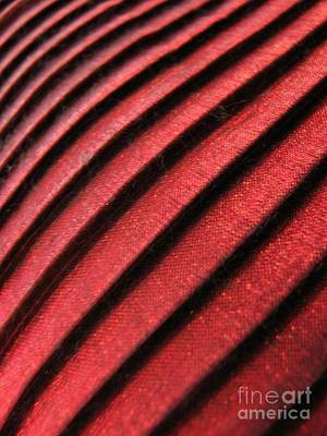Photograph - Pillow Pleats by Chris Anderson