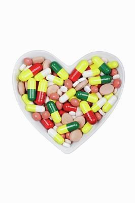 Pills In A Dish Art Print