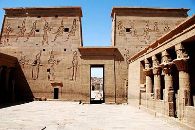 Pilono Templo De Isis Art Print