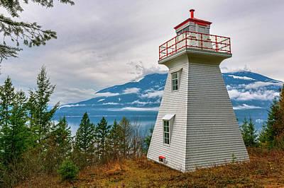 Kootenay Lake Photograph - Pilot Bay Lighthouse At Pilot Bay by Chuck Haney