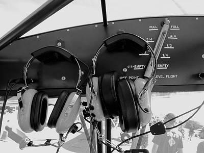 Pilot Commication Systems Art Print