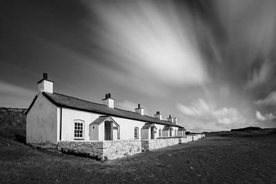 Llanddwyn Island Photograph - Pilot Cottages by Dave Bowman