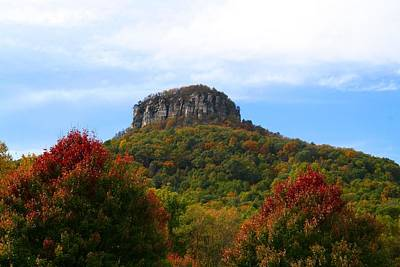 Pilot Mountain From 52 Art Print