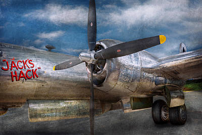 B29 Photograph - Pilot - Plane - The B-29 Superfortress by Mike Savad