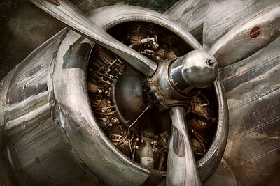 Photograph - Pilot - Prop - Propulsion by Mike Savad