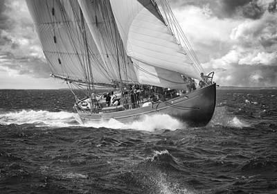 Photograph - Pilot Schooner Virginia by Mikael Carstanjen