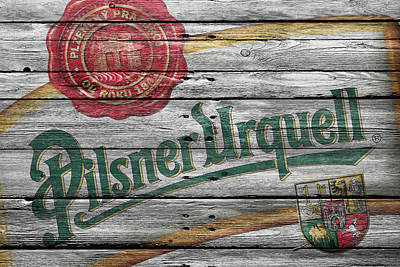 Handcrafted Photograph - Pilsner Urquell by Joe Hamilton