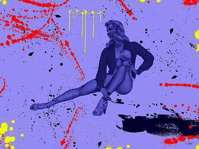 Rhythm And Blues Digital Art - Pin Tin I 5  by Sir Josef - Social Critic -  Maha Art