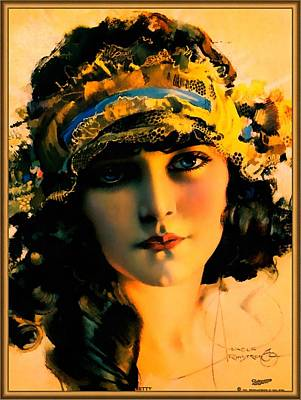 Digital Art - Pin Up Beauty by Rolf Armstrong