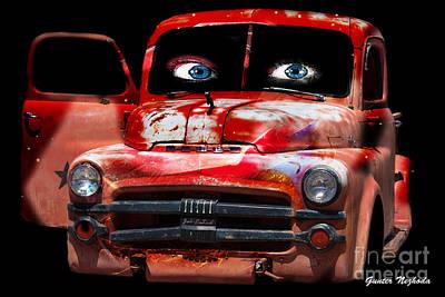 Photograph - Pin Up Cars - #4 by Gunter Nezhoda