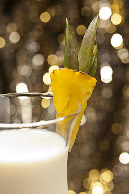 Photograph - Pina Colada Cocktail by U Schade