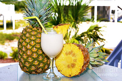 Photograph - Pina Colada With Pineapple by Danny Hooks
