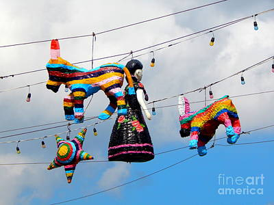 Photograph - Pinata Lanterns Of The Sky Cozumel Mexico by Michael Hoard