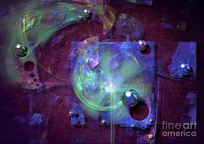 Digital Art - Pinball Table by Alexa Szlavics