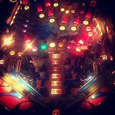 Wizard Photograph - #pinball #wizard by Heather Murphy