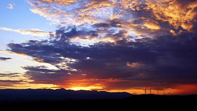 Photograph - Pincher Creek Sunset No.3 by Daniel Woodrum