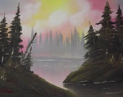 Pine Bay Art Print by Caleb Mitchell