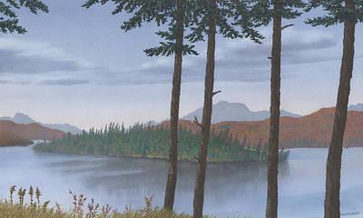 Painting - Pine Island by Peter Rashford