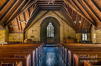Photograph - Pine Mountain Chapel by Anthony Heflin