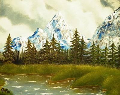 Pine Mountain River Art Print