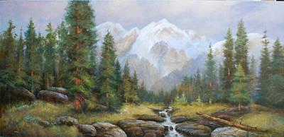 Pine Valley Art Print