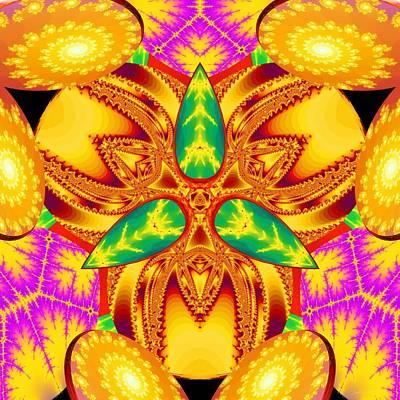 Digital Art - Pineal Flux by Derek Gedney