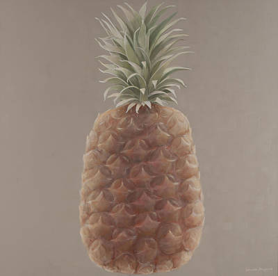 Pineapple, 2012 Acrylic On Canvas Art Print by Lincoln Seligman