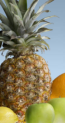Breakfast Photograph - Pineapple And Friends by Mark McKinney