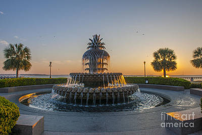 Photograph - Magical Fountain by Dale Powell