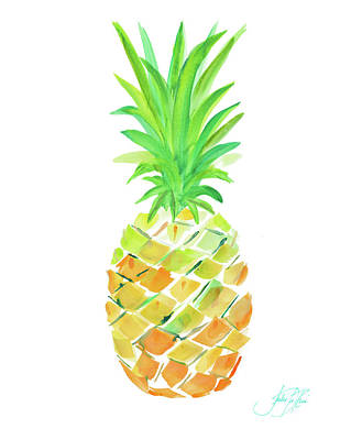 Painting - Pineapple II by Julie Derice