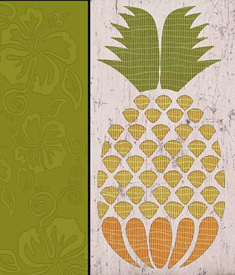 Pineapple II Art Print by Shanni Welsh