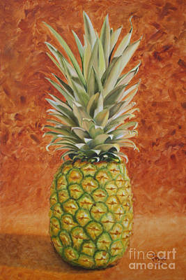 Pineapple  Art Print by Jimmie Bartlett