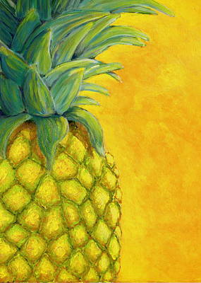 Painting - Pineapple by Karyn Robinson