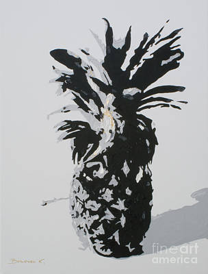 Painting - Pineapple by Katharina Filus