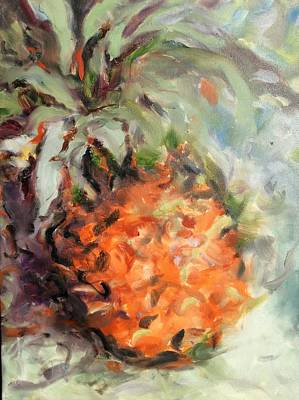 Painting - Pineapple Orange by Karen Carmean