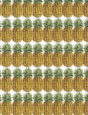 Painting - Pineapple Parade by John Keaton